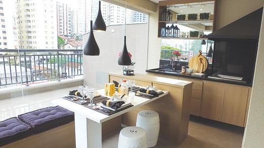 Terraco - Apartamento à venda Rua Dias de Toledo,Saúde, São Paulo - R$ 1.155.962 - II-2852-8916 - 4