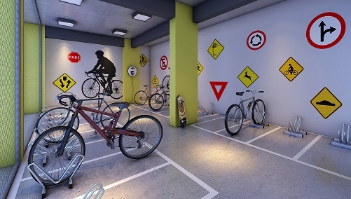 Bicicletario - Fachada - Alto São Francisco - 468 - 21