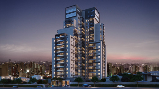 Fachada - Apartamento à venda Rua Antônio Marcondes,Ipiranga, São Paulo - R$ 647.309 - II-2968-9161 - 1
