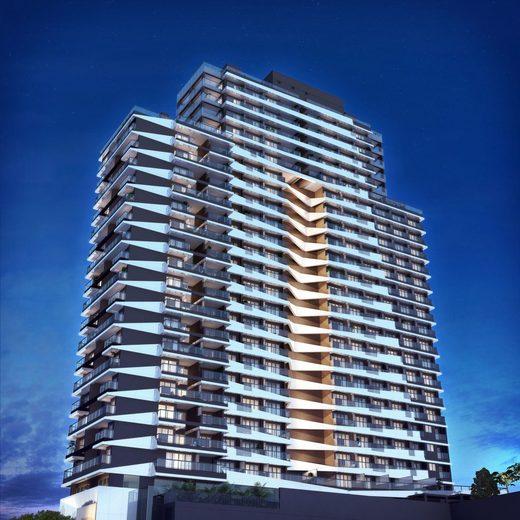 Fachada - Apartamento 2 quartos à venda Pinheiros, São Paulo - R$ 1.426.636 - II-2972-9176 - 1