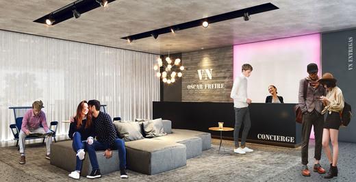 Lobby - Apartamento 2 quartos à venda Pinheiros, São Paulo - R$ 1.426.636 - II-2972-9176 - 6