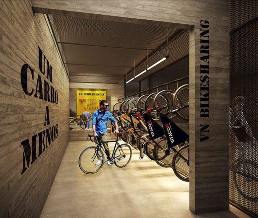 Bicicletario - Apartamento 2 quartos à venda Pinheiros, São Paulo - R$ 1.426.636 - II-2972-9176 - 27