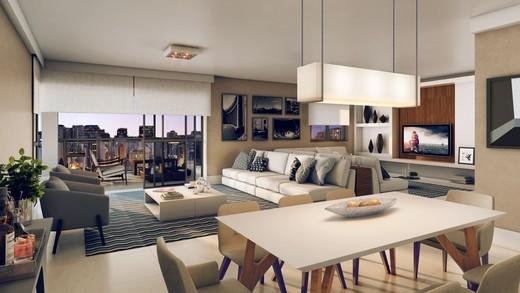 Living - Cobertura à venda Rua Aimberê,Perdizes, São Paulo - R$ 2.953.639 - II-2974-9185 - 4