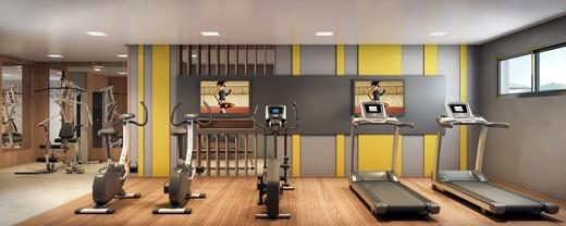 Fitness - Cobertura à venda Rua Aimberê,Perdizes, São Paulo - R$ 2.953.639 - II-2974-9185 - 6