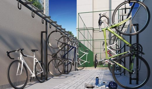 Bicicletario - Fachada - Fit Casa Brás - 474 - 30