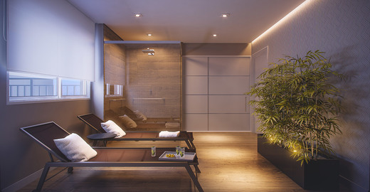 Descanso sauna - Fachada - Absoluto Tatuapé - 117 - 19
