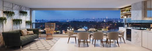Terraco apartamento - Fachada - Le Jardin Ibirapuera - 118 - 8