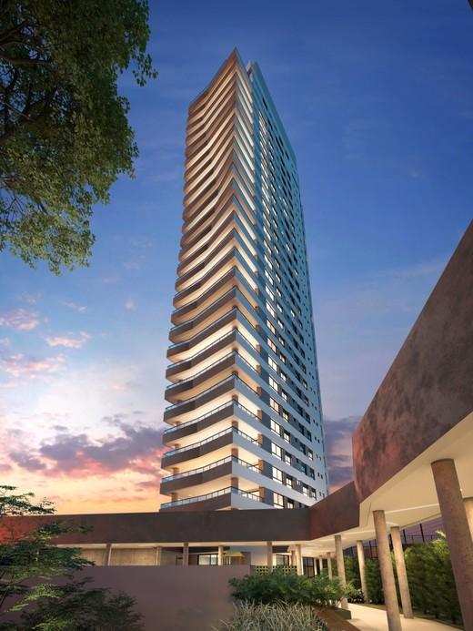 Fachada - Apartamento à venda Rua Jorge Americano ,Alto da Lapa, Zona Oeste,São Paulo - R$ 3.652.350 - II-3028-9299 - 3