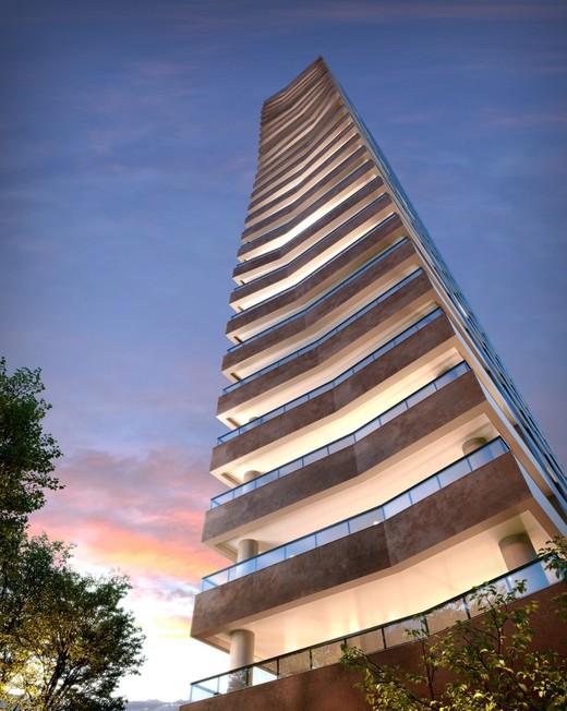 Fachada - Apartamento à venda Rua Jorge Americano ,Alto da Lapa, Zona Oeste,São Paulo - R$ 3.652.350 - II-3028-9299 - 4