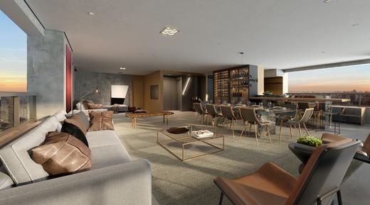 Living - Apartamento à venda Rua Jorge Americano ,Alto da Lapa, Zona Oeste,São Paulo - R$ 3.652.350 - II-3028-9299 - 6