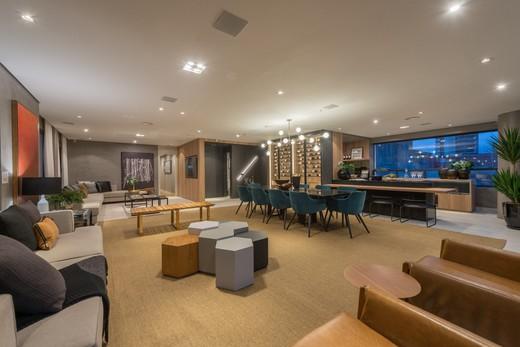Living - Apartamento à venda Rua Jorge Americano ,Alto da Lapa, Zona Oeste,São Paulo - R$ 3.652.350 - II-3028-9299 - 7