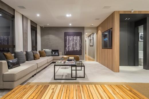 Living - Apartamento à venda Rua Jorge Americano ,Alto da Lapa, Zona Oeste,São Paulo - R$ 3.652.350 - II-3028-9299 - 9