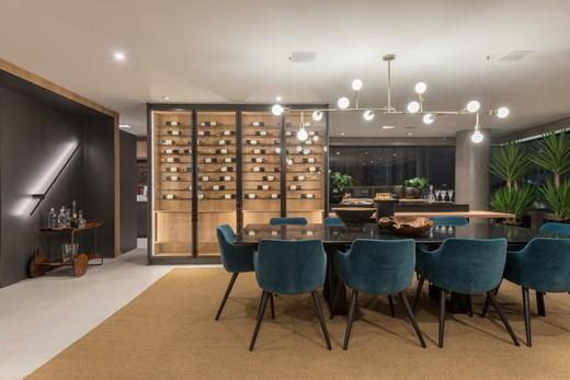 Living - Apartamento à venda Rua Jorge Americano ,Alto da Lapa, Zona Oeste,São Paulo - R$ 3.652.350 - II-3028-9299 - 10