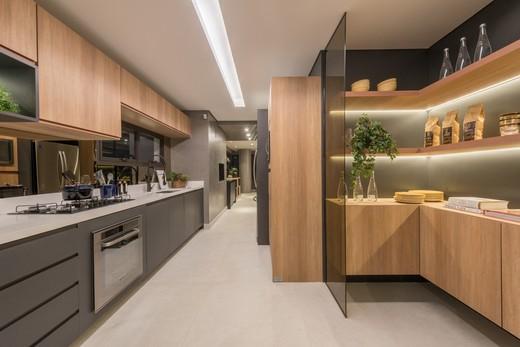 Cozinha - Apartamento à venda Rua Jorge Americano ,Alto da Lapa, Zona Oeste,São Paulo - R$ 3.652.350 - II-3028-9299 - 11