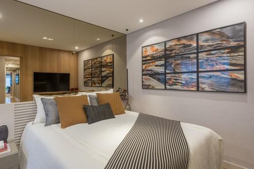 Dormitorio - Apartamento à venda Rua Jorge Americano ,Alto da Lapa, Zona Oeste,São Paulo - R$ 3.652.350 - II-3028-9299 - 12