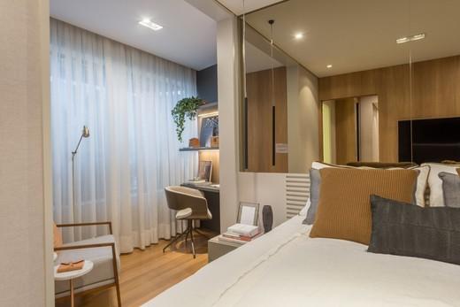 Dormitorio - Apartamento à venda Rua Jorge Americano ,Alto da Lapa, Zona Oeste,São Paulo - R$ 3.652.350 - II-3028-9299 - 13