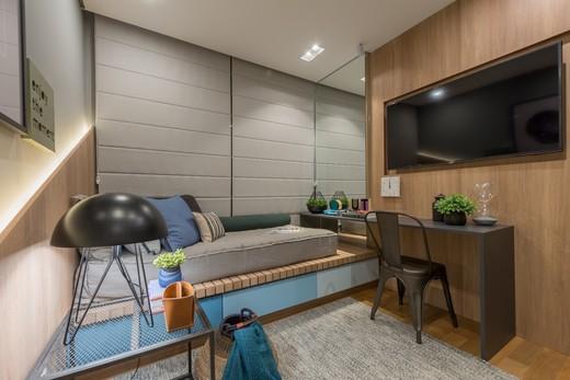 Dormitorio - Apartamento à venda Rua Jorge Americano ,Alto da Lapa, Zona Oeste,São Paulo - R$ 3.652.350 - II-3028-9299 - 15