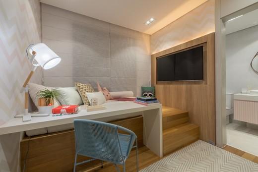 Dormitorio - Apartamento à venda Rua Jorge Americano ,Alto da Lapa, Zona Oeste,São Paulo - R$ 3.652.350 - II-3028-9299 - 16