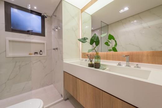 Banheiro - Apartamento à venda Rua Jorge Americano ,Alto da Lapa, Zona Oeste,São Paulo - R$ 3.652.350 - II-3028-9299 - 17
