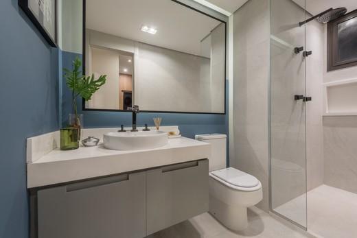 Banheiro - Apartamento à venda Rua Jorge Americano ,Alto da Lapa, Zona Oeste,São Paulo - R$ 3.652.350 - II-3028-9299 - 18