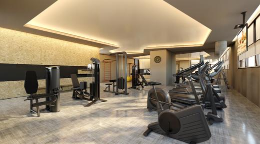 Fitness - Apartamento à venda Rua Jorge Americano ,Alto da Lapa, Zona Oeste,São Paulo - R$ 3.652.350 - II-3028-9299 - 19