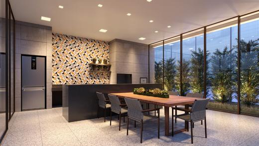 Espaco gourmet - Apartamento à venda Rua Jorge Americano ,Alto da Lapa, Zona Oeste,São Paulo - R$ 3.652.350 - II-3028-9299 - 21
