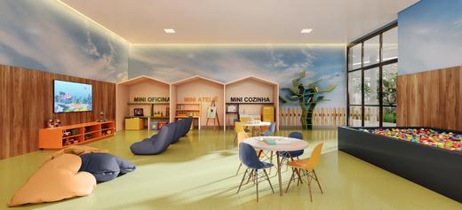 Espaco kids - Apartamento à venda Rua Jorge Americano ,Alto da Lapa, Zona Oeste,São Paulo - R$ 3.652.350 - II-3028-9299 - 22