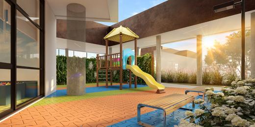 Playground - Apartamento à venda Rua Jorge Americano ,Alto da Lapa, Zona Oeste,São Paulo - R$ 3.652.350 - II-3028-9299 - 24