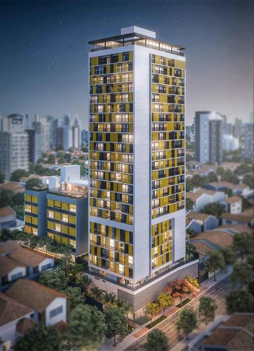 Fachada - Apartamento 2 quartos à venda Vila Madalena, São Paulo - R$ 848.100 - II-3030-9302 - 1