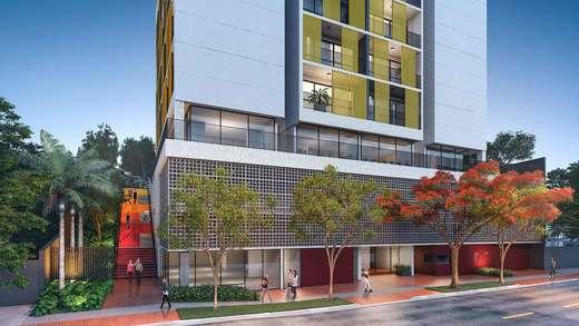 Portaria - Apartamento 2 quartos à venda Vila Madalena, São Paulo - R$ 848.100 - II-3030-9302 - 3