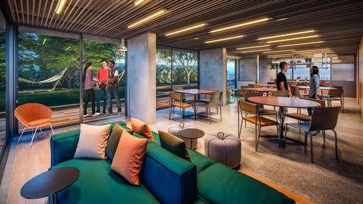 Salao de festas - Apartamento 2 quartos à venda Vila Madalena, São Paulo - R$ 848.100 - II-3030-9302 - 5