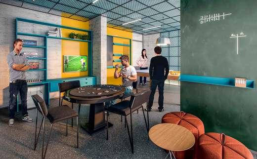 Salao de jogos - Apartamento 2 quartos à venda Vila Madalena, São Paulo - R$ 848.100 - II-3030-9302 - 6