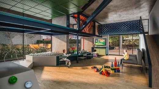 Espaco kids - Apartamento 2 quartos à venda Vila Madalena, São Paulo - R$ 848.100 - II-3030-9302 - 7