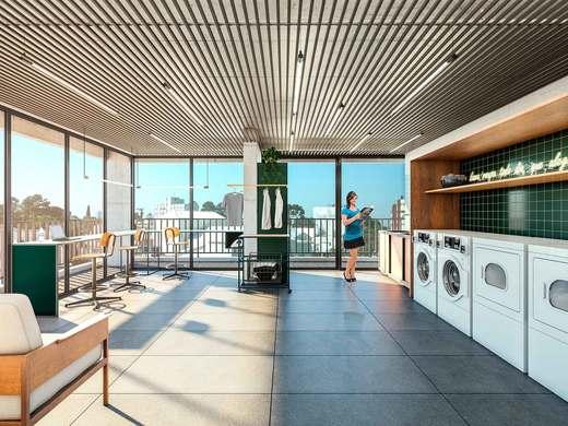 Lavanderia - Apartamento 2 quartos à venda Vila Madalena, São Paulo - R$ 848.100 - II-3030-9302 - 8