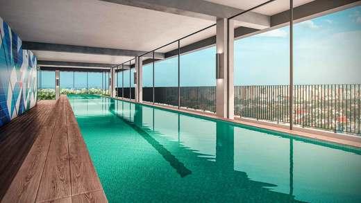 Piscina coberta - Apartamento 2 quartos à venda Vila Madalena, São Paulo - R$ 848.100 - II-3030-9302 - 10