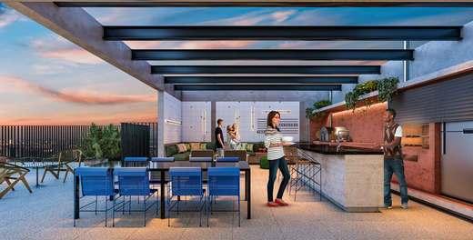 Churrasqueira - Apartamento 2 quartos à venda Vila Madalena, São Paulo - R$ 848.100 - II-3030-9302 - 11