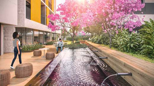 Praca - Apartamento 2 quartos à venda Vila Madalena, São Paulo - R$ 848.100 - II-3030-9302 - 12