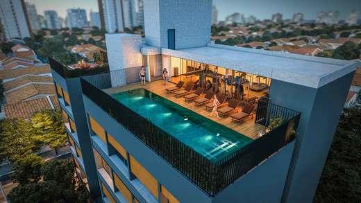 Aereo - Apartamento 2 quartos à venda Vila Madalena, São Paulo - R$ 848.100 - II-3030-9302 - 13
