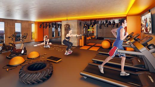 Fitness - Cobertura à venda Rua Turiassu,Perdizes, São Paulo - R$ 711.249 - II-3043-9358 - 7
