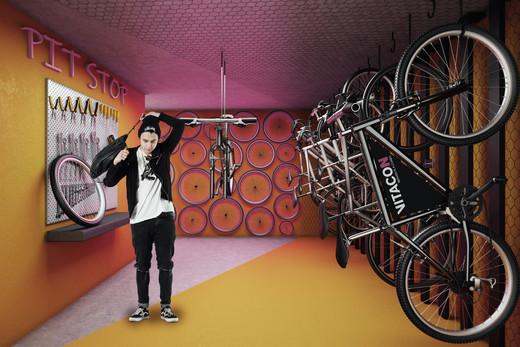Bicicletario - Cobertura à venda Rua Turiassu,Perdizes, São Paulo - R$ 711.249 - II-3043-9358 - 12