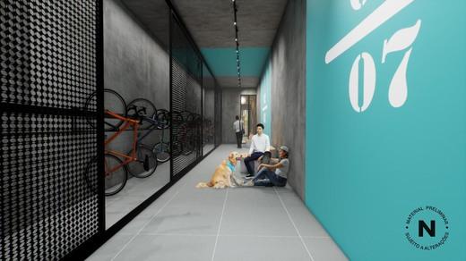Bicicletario - Fachada - VN Consolação - 485 - 11