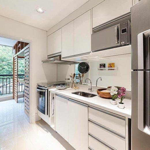 Cozinha - Fachada - Top Club Plaza - 486 - 9