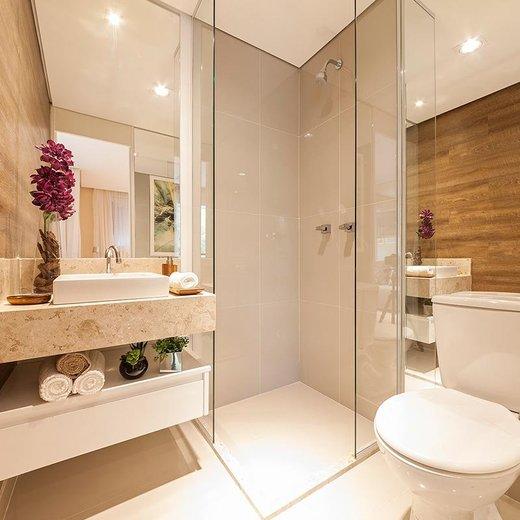 Banheiro - Fachada - Top Club Plaza - 486 - 16