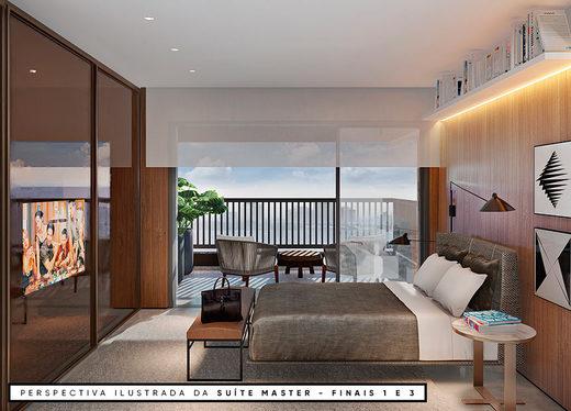 Dormitorio - Fachada - EXP Moema - 123 - 13