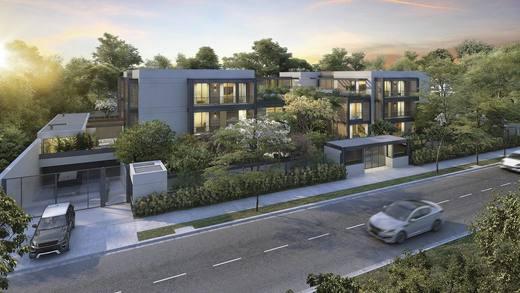 Fachada - Casa em Condomínio 4 quartos à venda Alto de Pinheiros, Zona Oeste,São Paulo - R$ 7.243.185 - II-3092-9448 - 3
