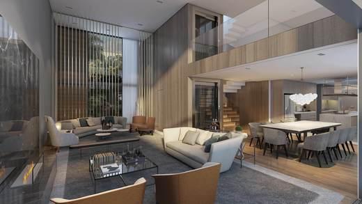 Living - Casa em Condomínio 4 quartos à venda Alto de Pinheiros, Zona Oeste,São Paulo - R$ 7.243.185 - II-3092-9448 - 5