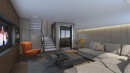 Living - Casa em Condomínio 4 quartos à venda Alto de Pinheiros, Zona Oeste,São Paulo - R$ 7.243.185 - II-3092-9448 - 6
