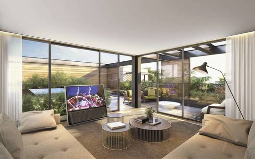 Living - Casa em Condomínio 4 quartos à venda Alto de Pinheiros, Zona Oeste,São Paulo - R$ 7.243.185 - II-3092-9448 - 7