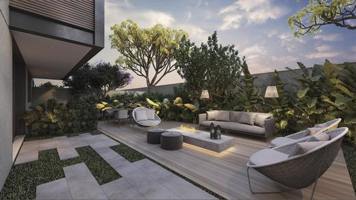 Area externa - Casa em Condomínio 4 quartos à venda Alto de Pinheiros, Zona Oeste,São Paulo - R$ 7.243.185 - II-3092-9448 - 19