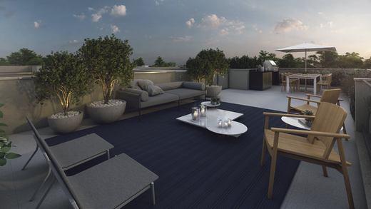 Area externa - Casa em Condomínio 4 quartos à venda Alto de Pinheiros, Zona Oeste,São Paulo - R$ 7.243.185 - II-3092-9448 - 20